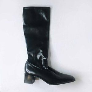 Peter Kaiser square toe leather boots - size 7